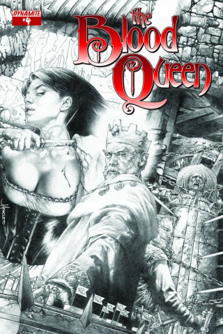 The Blood Queen #4 (25 Copy Anacleto Cover)