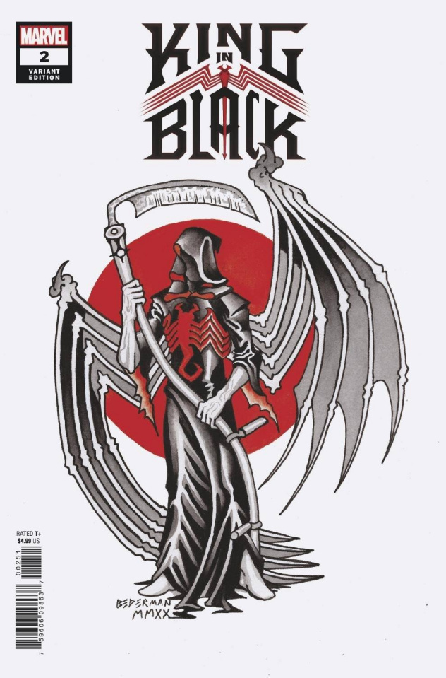 King in Black #2 (Bederman Tattoo Cover)