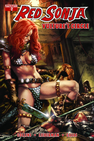 Red Sonja: Vulture's Circle #2 (Anacleto Cover)
