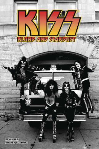 KISS: Blood and Stardust #3 (Photo Cover)