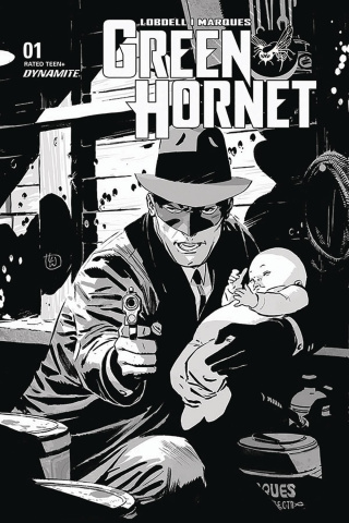 Green Hornet #1 (35 Copy Weeks B&W Cover)