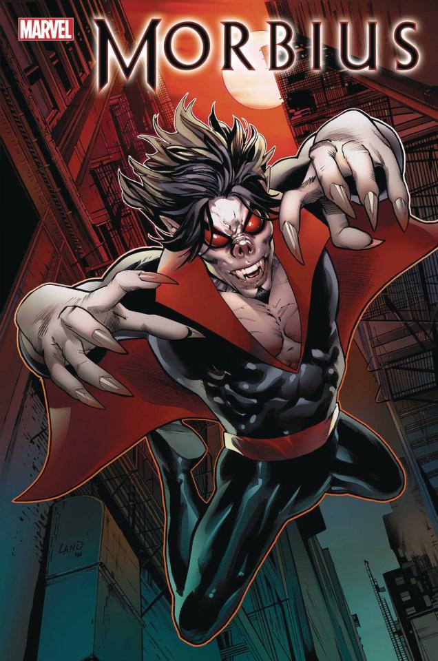 Morbius #1 (Land Cover)