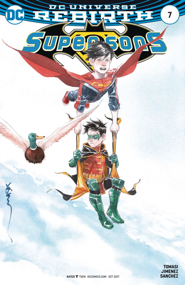 Super Sons #7 (Variant Cover)