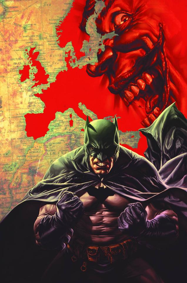 Batman: Europa #1  (Variant Cover)