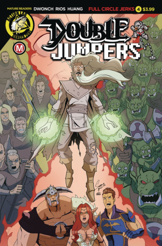 Double Jumpers: Full Circle Jerks #4 (Rios Cover)