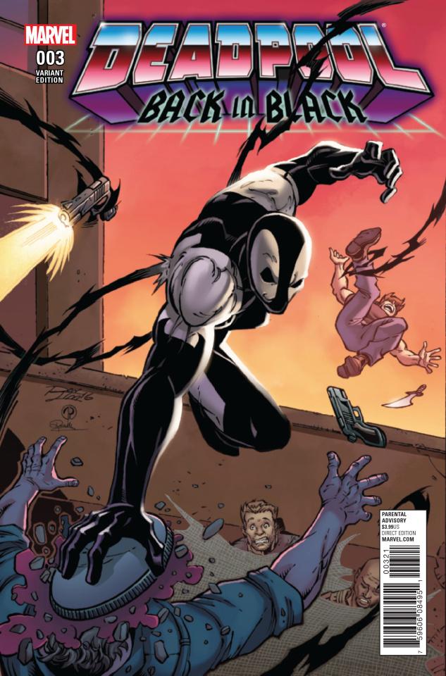 Deadpool: Back in Black #3 (Lim Cover)