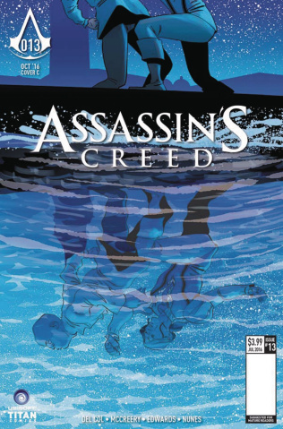 Assassin's Creed #13 (Culbard Cover)
