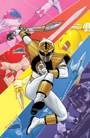 Mighty Morphin' Power Rangers Anniversary Special #1 (25 Copy Quinones Cover)