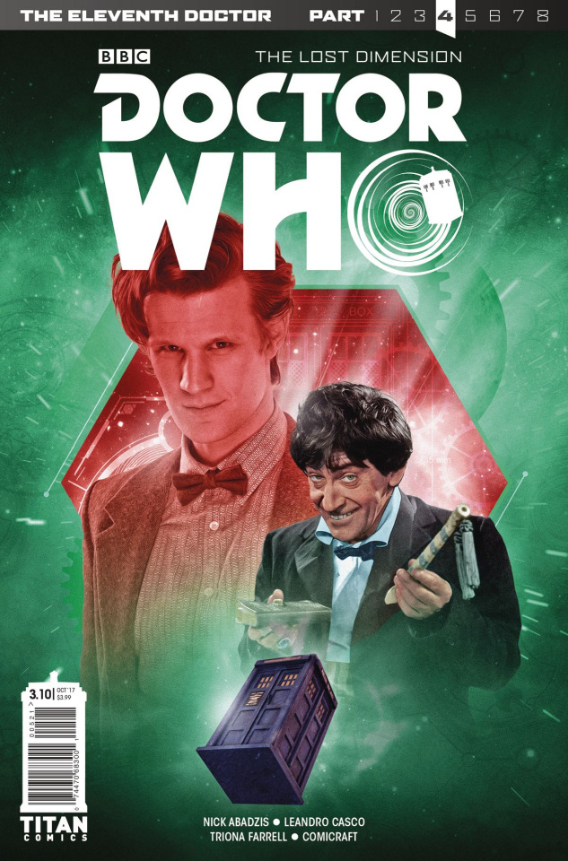 Doctor Who: New Adventures with the Eleventh Doctor, Year Three #10 (Photo Cover)