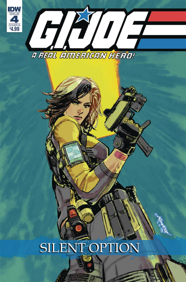 G.I. Joe: A Real American Hero - Silent Option #4 (Loh Cover)