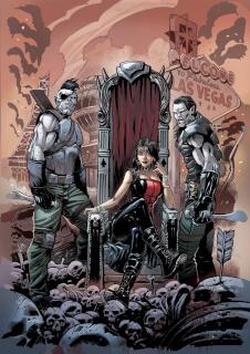Grimm Fairy Tales: Realm War #12 (Errico Cover)