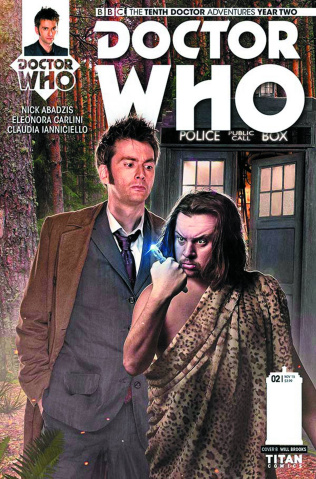 Doctor Who: New Adventures with the Tenth Doctor, Year Two #4 (Subscription Photo Cover)