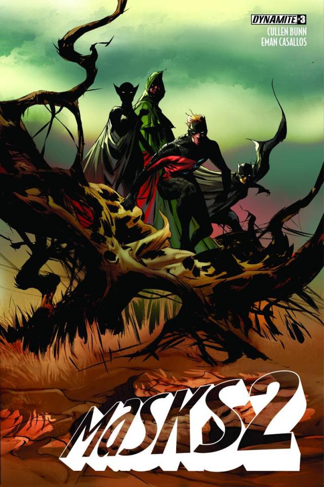 Masks 2 #3 (Lee Cover)