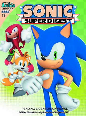Sonic Super Digest #13