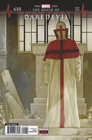 Daredevil #610 (Noto 2nd Printing)
