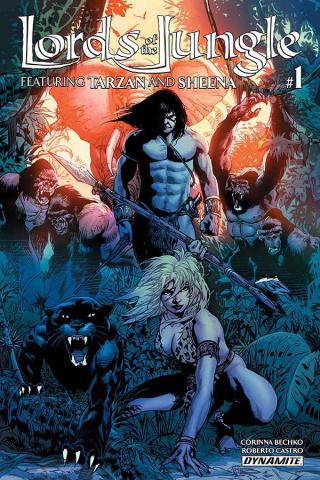 Lords of the Jungle #1 (Castro Cover)
