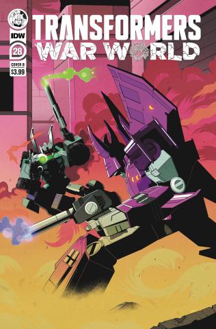 The Transformers #28 (Adam Bryce Thomas Cover)