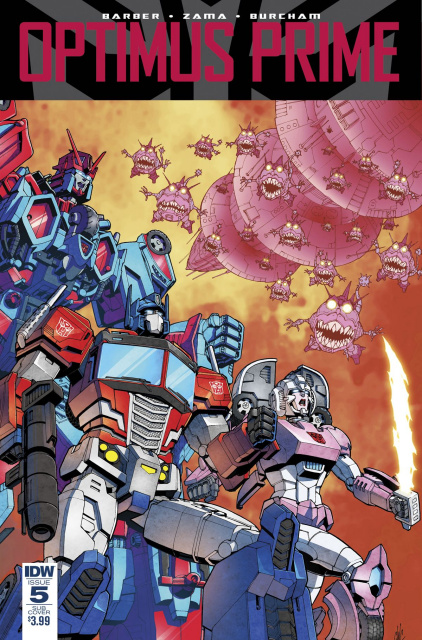 Optimus Prime #5 (Subscription Cover)