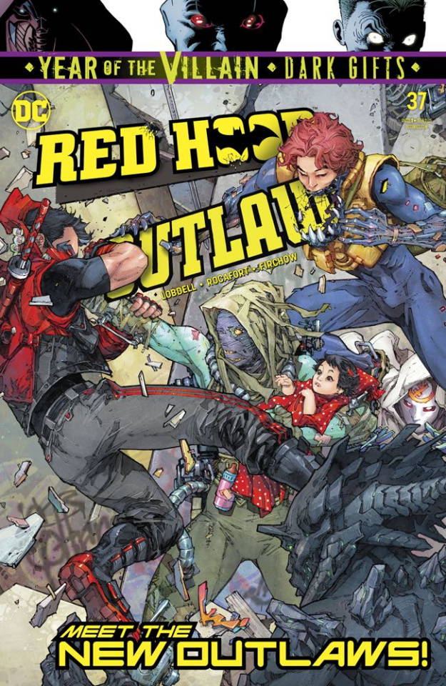 Red Hood: Outlaw #37 (Dark Gifts Cover)