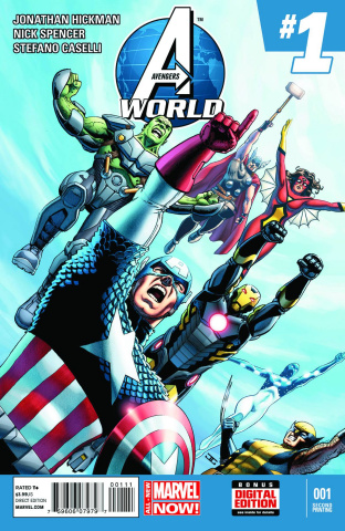 Avengers World #1 (2nd Printing)