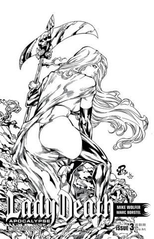 Lady Death: Apocalypse #3 (Premium Pure Art Cover)