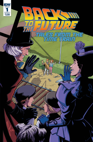 Back to the Future: Tales from the Time Train #1 (Levens Cover)