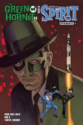 The Green Hornet '66 Meets The Spirit #1 (Templeton Cover)