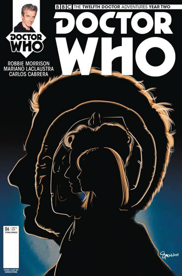 Doctor Who: New Adventures with the Twelfth Doctor, Year Two #6 (Myers Cover)