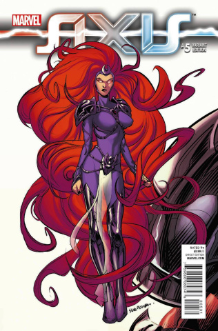 Avengers and X-Men: AXIS #5 (Pichelli Young Guns Cover)