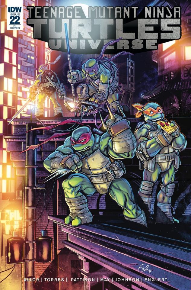 Teenage Mutant Ninja Turtles Universe #22 (10 Copy Cover)