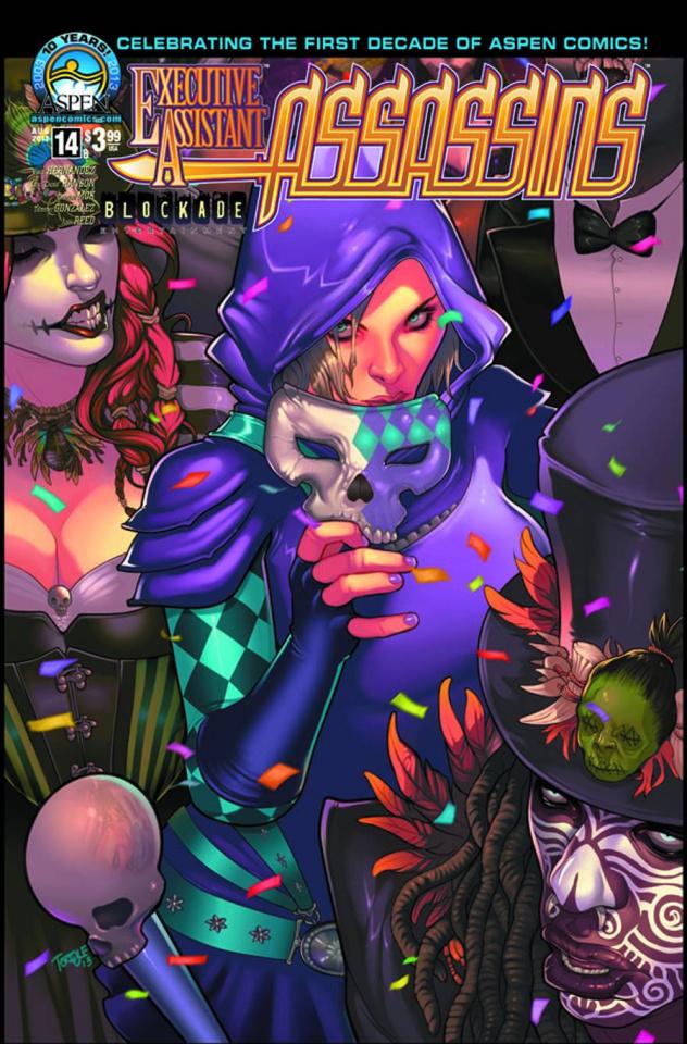 Executive Assistant: Assassins #14 (Torque Cover)