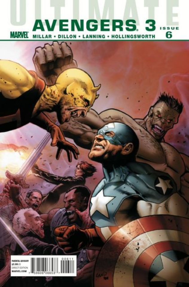 Ultimate Comics Avengers 3 #6