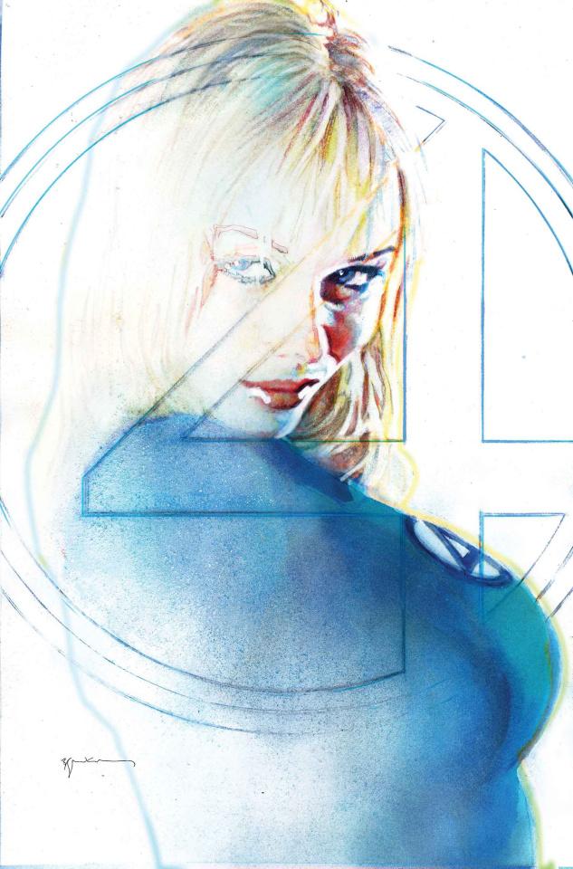 Fantastic Four #8 (Sienkiewicz Cover)