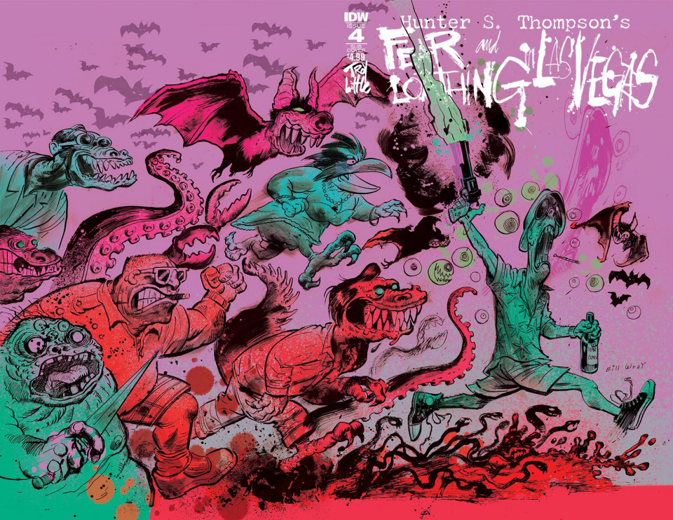 Fear and Loathing in Las Vegas #4 (Subscription Cover)