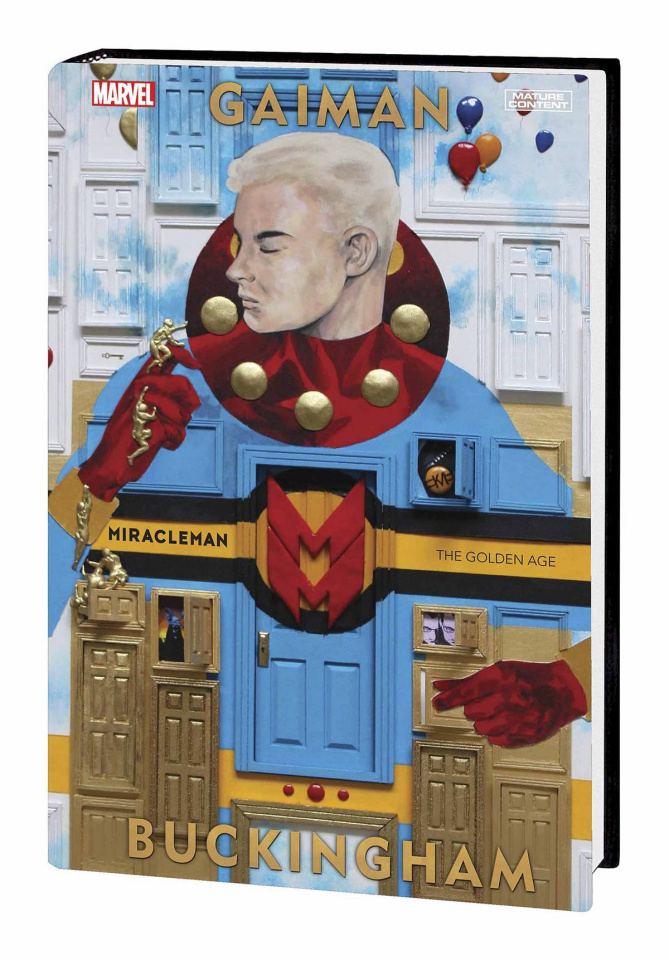 Miracleman by Gaiman and Buckingham Book 1: The Golden Age