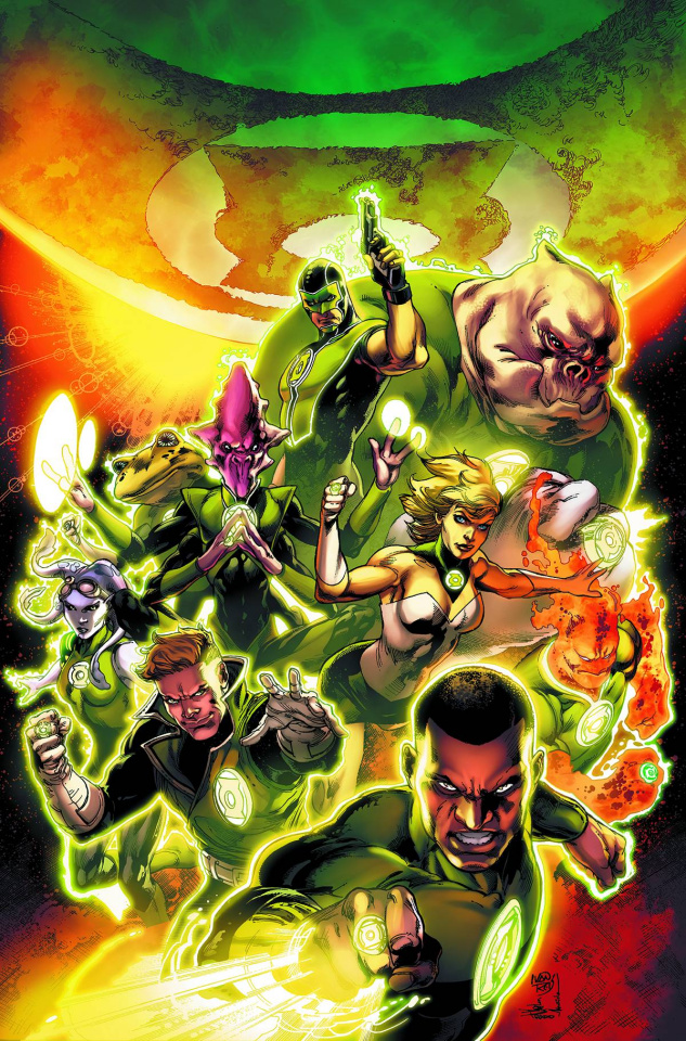 Green Lantern Corps: The Edge of Oblivion #1