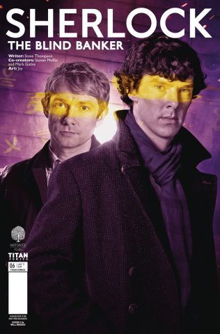 Sherlock: The Blind Banker #6 (Brooks Cover)
