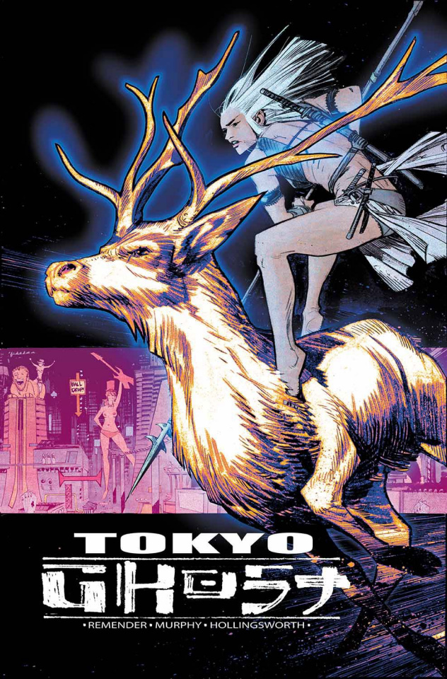 Tokyo Ghost #9 (Murphy & Hollingsworth Cover)