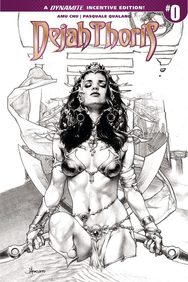Dejah Thoris #0 (25 Copy Anacleto B&W Cover)
