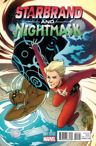 Starbrand and Nightmask #1 (Lupacchino Cover)