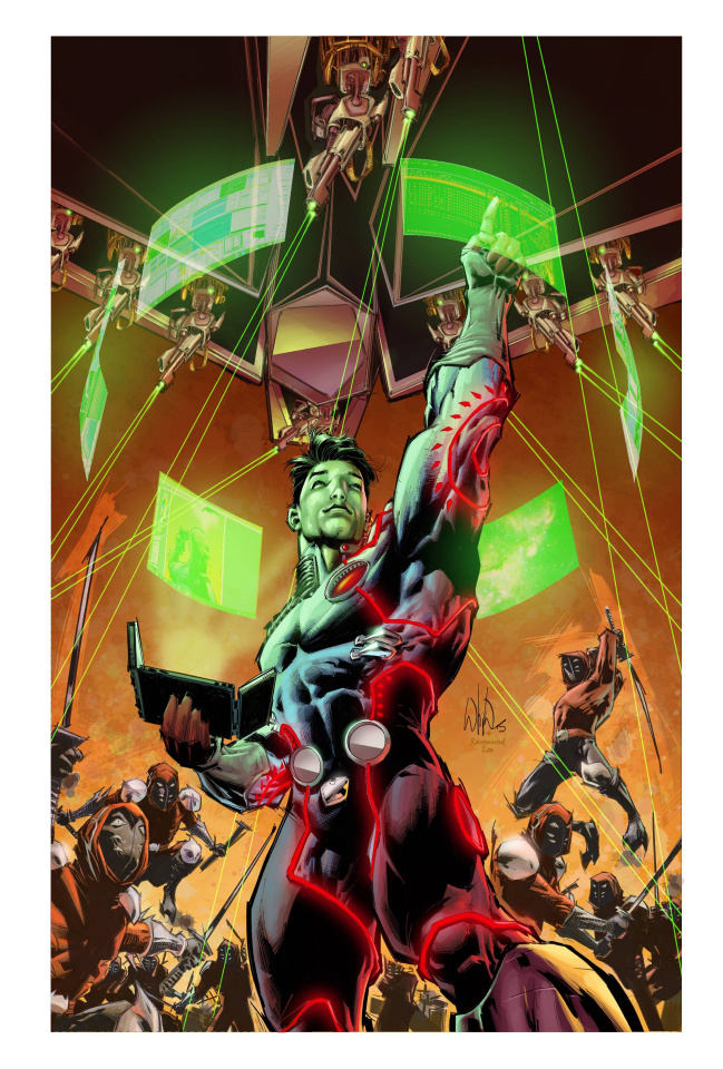 The Infinite Adventures of Jonas Quantum #1 (10 Copy Cover)
