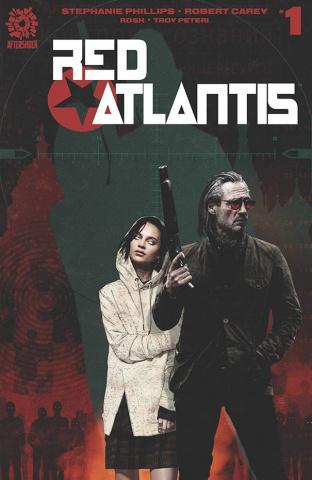 Red Atlantis #1 (15 Copy Bradstreet Cover)