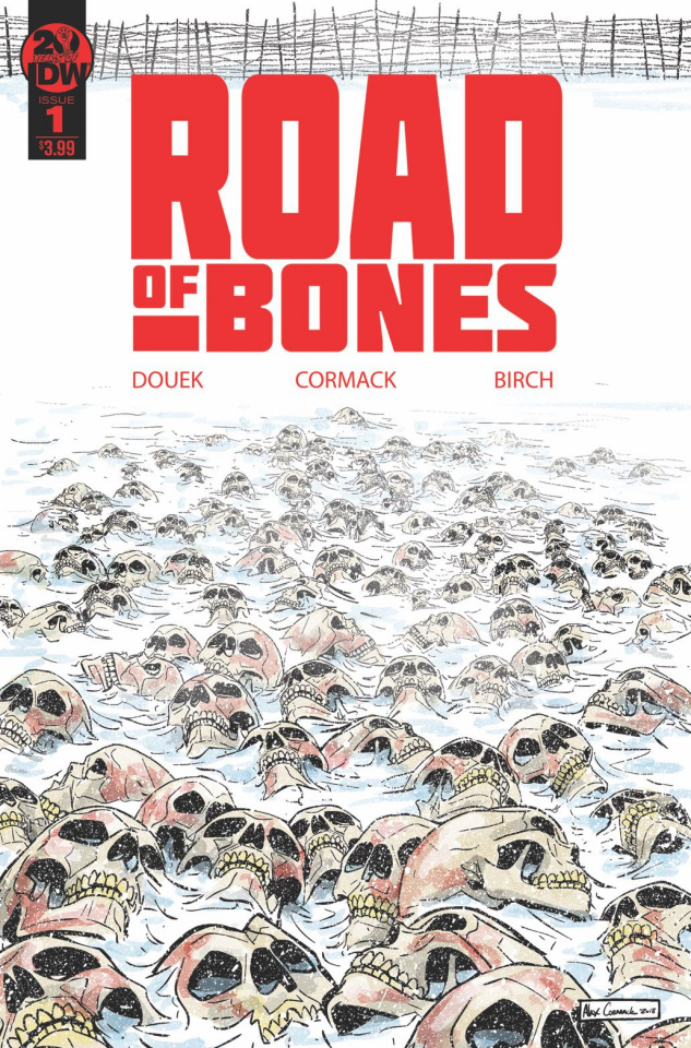 Road of Bones #1 (2nd Printing)