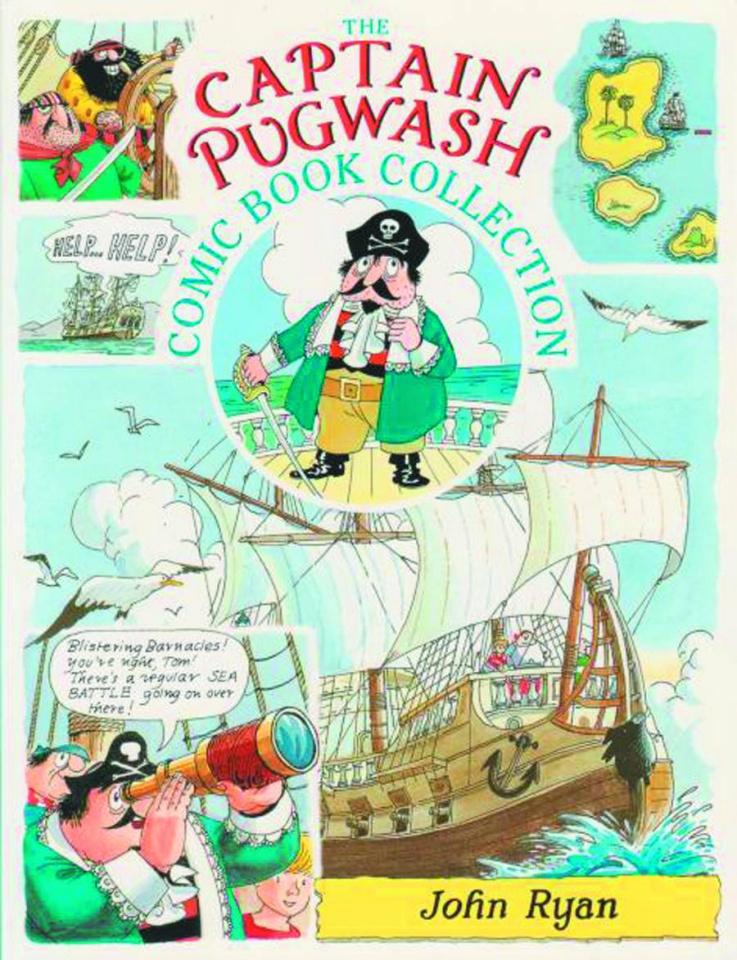 The Captain Pugwash Comic Book Collection