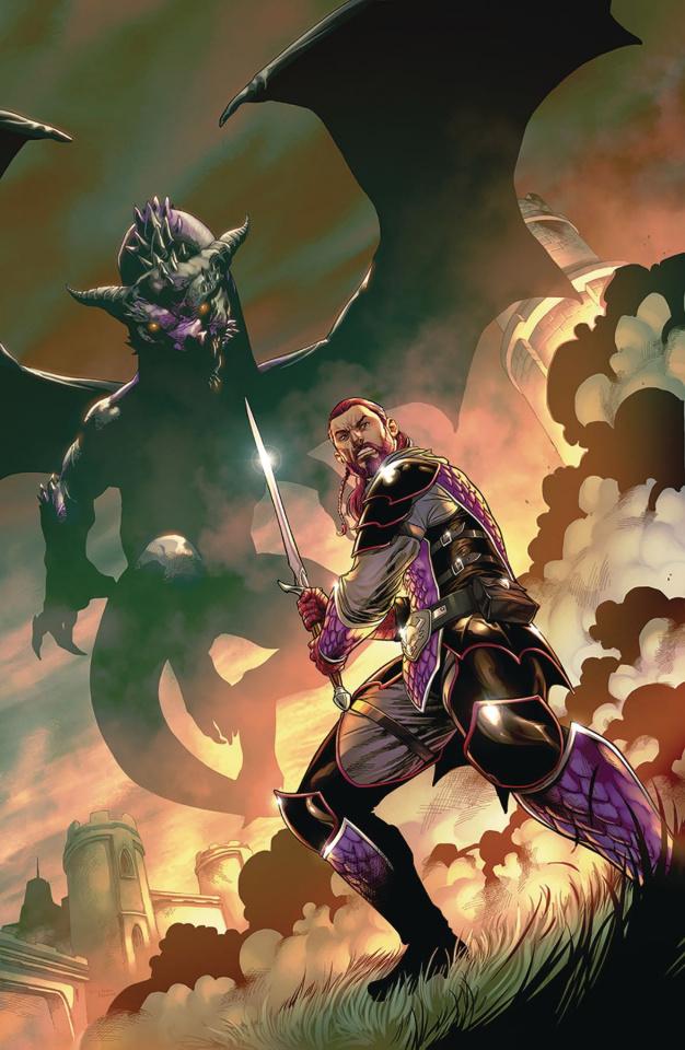 Dragonsblood #1 (Coccolo Cover)