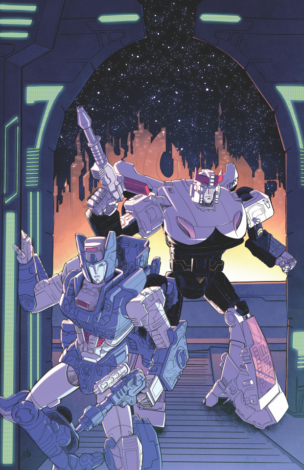 The Transformers #13 (10 Copy Shepherd Cover)