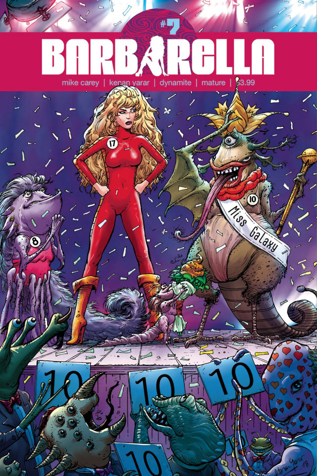 Barbarella #7 (Yarar Subscription Cover)