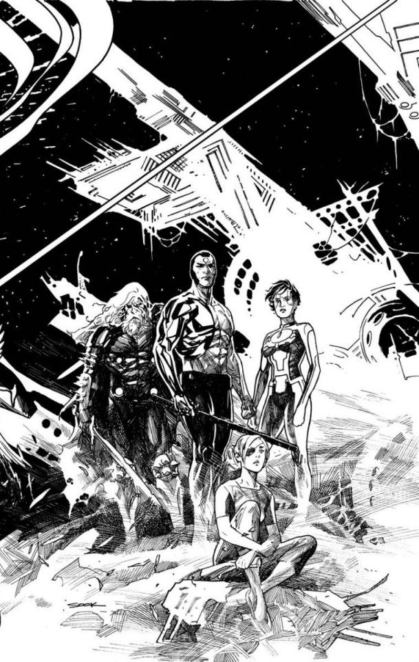 4001 AD #4 (Sook Sketch Cover)