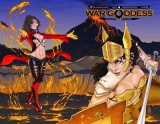 War Goddess #4 (Wrap Cover)