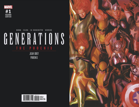 Generations: Phoenix & Jean Grey #1 (Ross Connecting Cover)